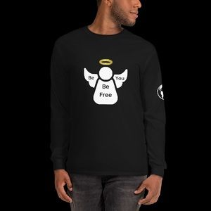 Golden Halo Angel Long Sleeves T-Shirts